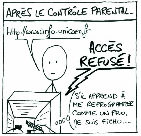 Illustration des études en informatique à l'université